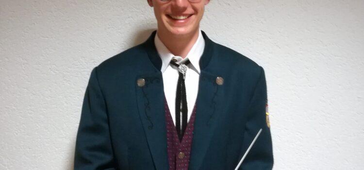Wir begrüßen unseren neuen Dirigenten Vinzenz Jochum