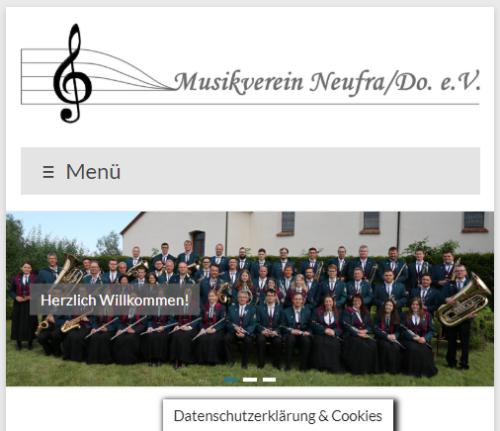 Neue Homepage im Responsive Webdesign