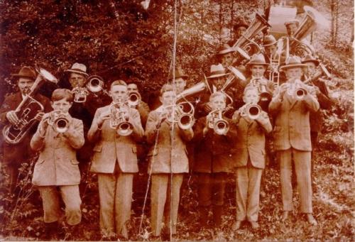 Der Musikverein im Jahre 1924-1925