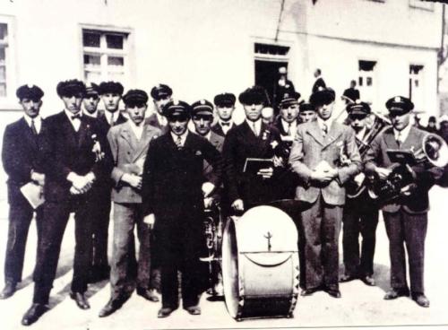 Der Musikverein im Jahre 1933