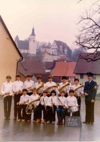 Jugendkapelle 1984