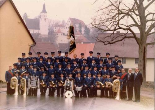 Der Musikverein im Jahre 1984